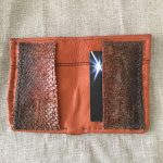 Salmon Leather BillFold Wallet