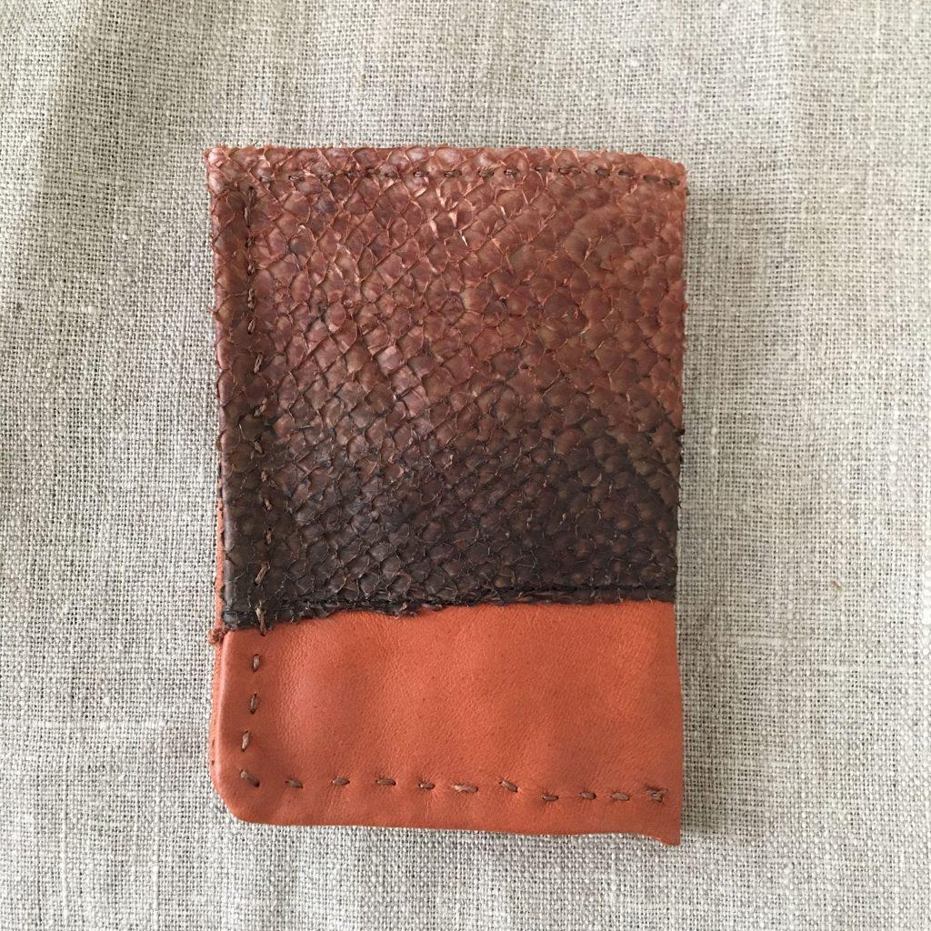 Salmon Skin Wallet