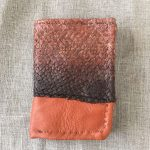 Salmon Fish Skin / Reindeer Leather Wallet