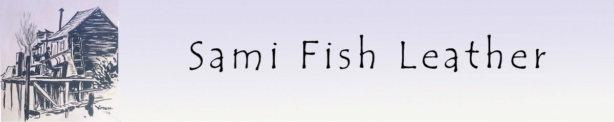 Sami Fish Leather